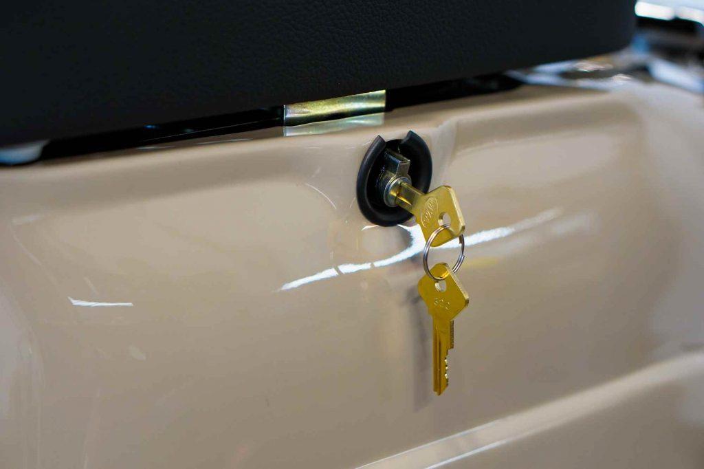 Simson Schwalbe KR51 Sitzbankschloss mit Schlüssel