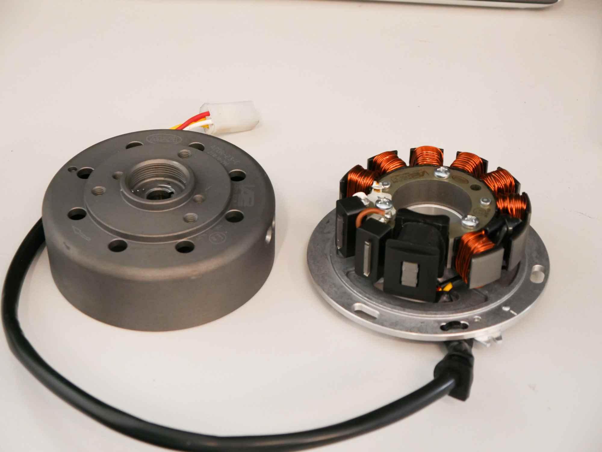 Vape Zündgrundplatte mit Rotor