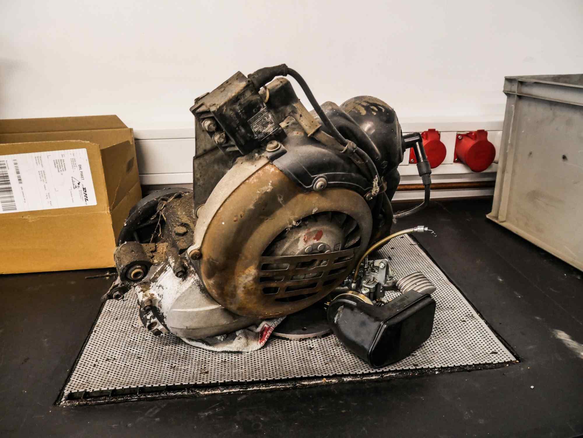 Alter Vespa PK 50 Motor