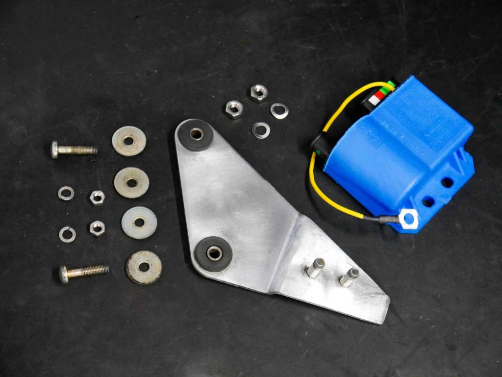Einzelteile Halterung CDI für Vespa PK 50 Motor