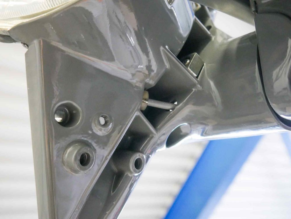 Gaszug im Lenker Vespa PK 50