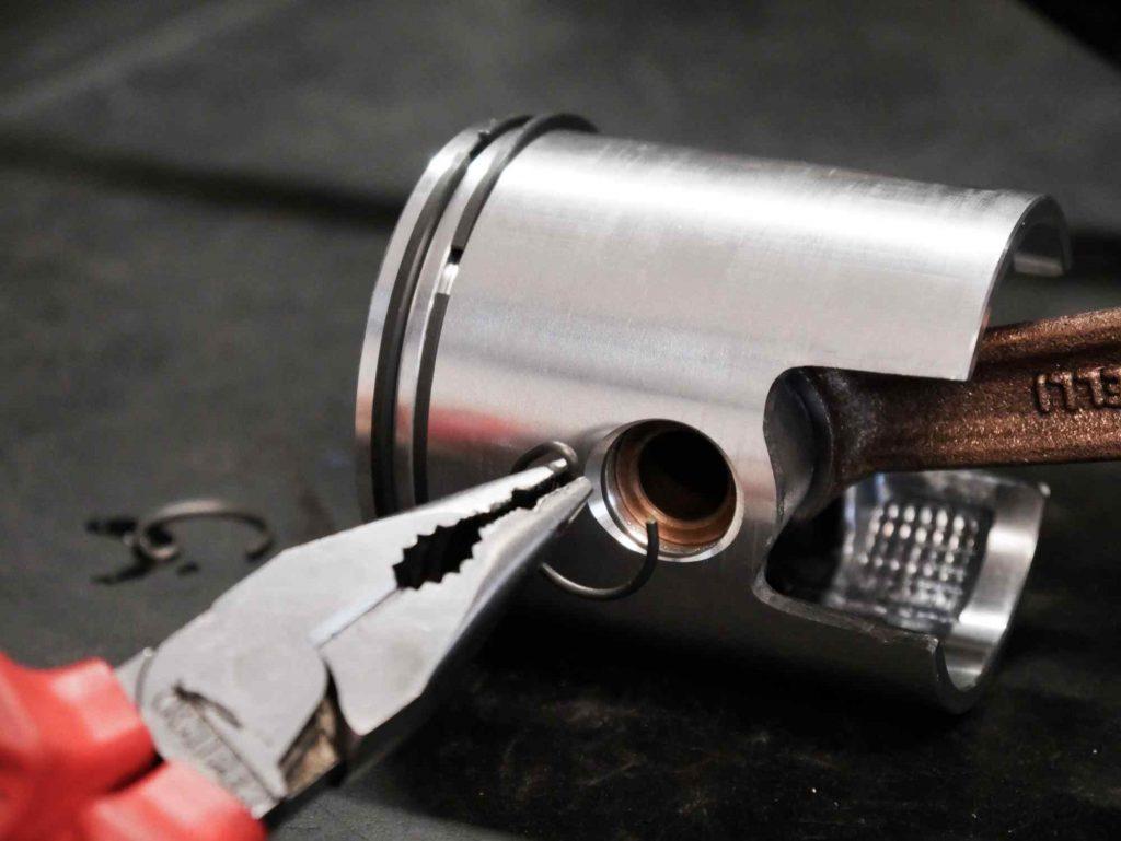 Kolbenclips Vespa PK Polini 130 ccm Tuning Zylinder