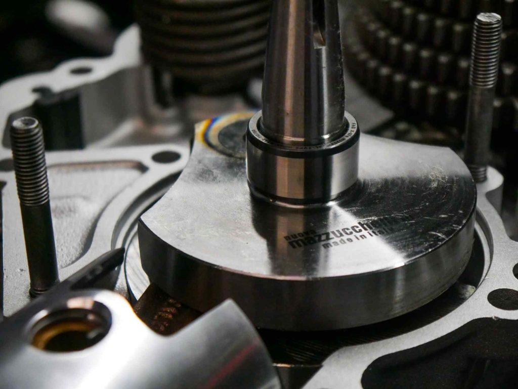 Mazzucchelli Kurbelwelle Vespa PK neu eingebaut bei Motorrevision
