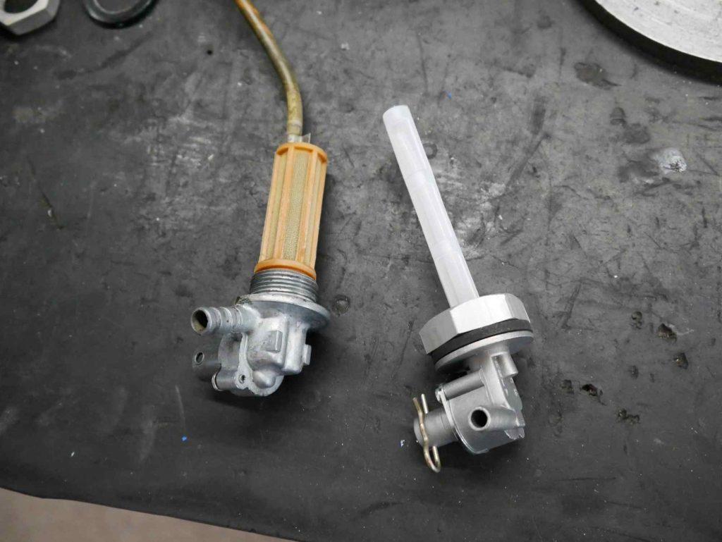 Neuer Benzinhahn BGM für Vespa PK 50