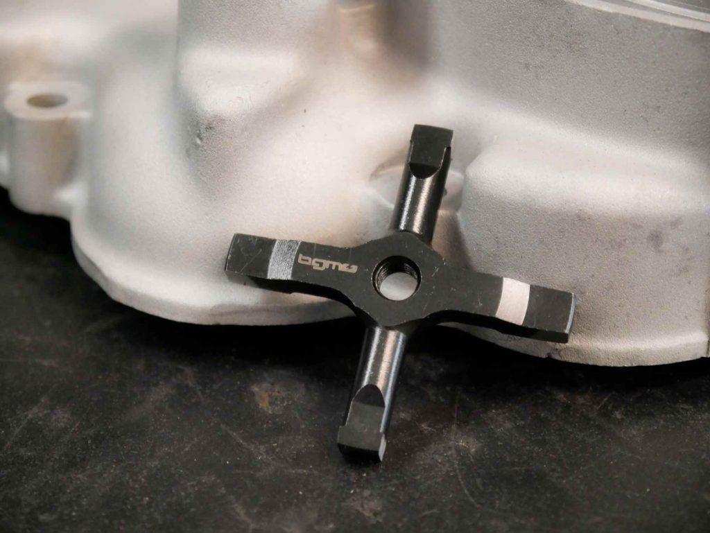Neues BGM Schaltkreuz für Vespa 125 Motor