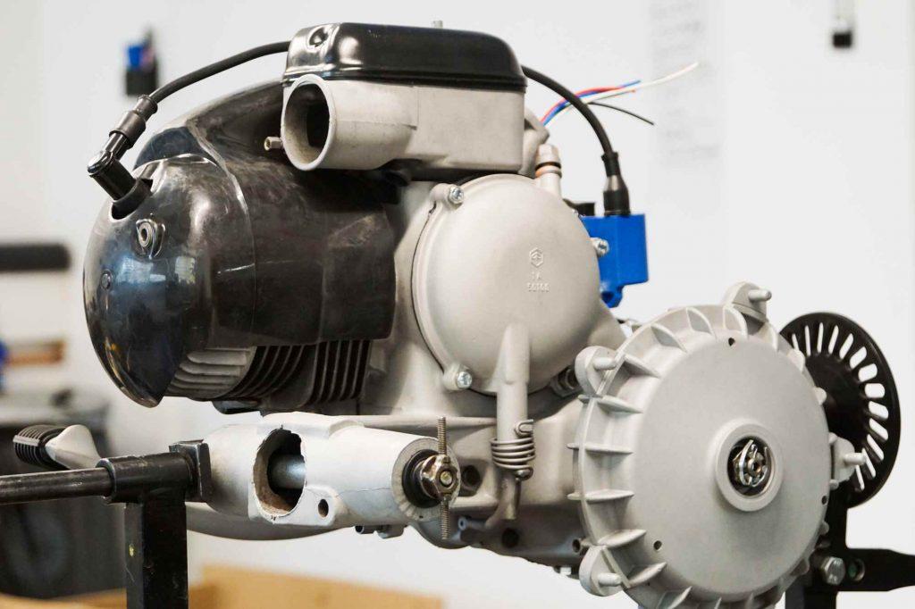 Perfekter Vespa Motor