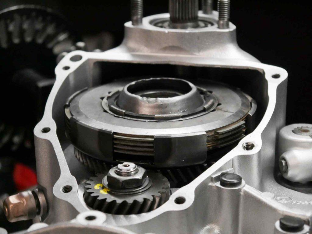 Primärtrieb mit Kupplung eingebaut Vespa PK 50