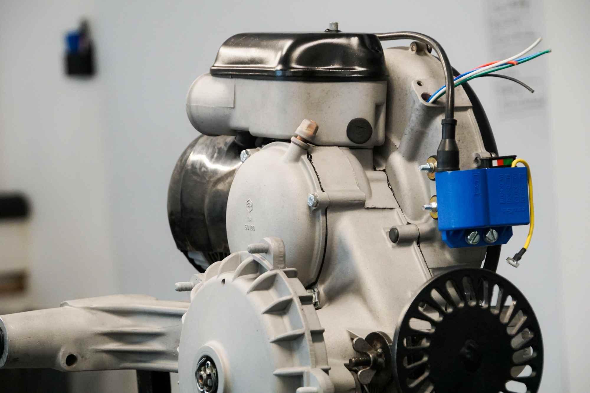 Vespa Motor in perfektem Zustand