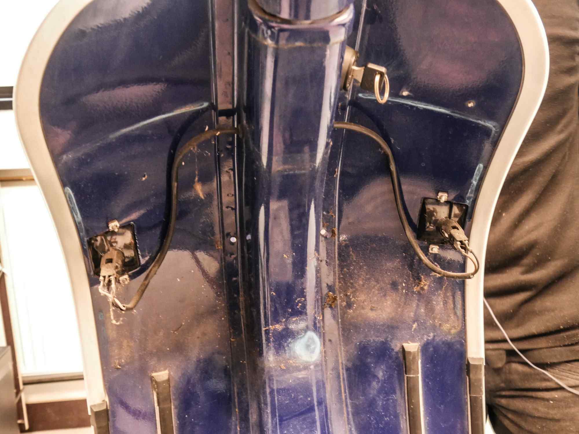 Vespa PK 50 Blinker vorne hinter Handschuhfach Gepäckfach