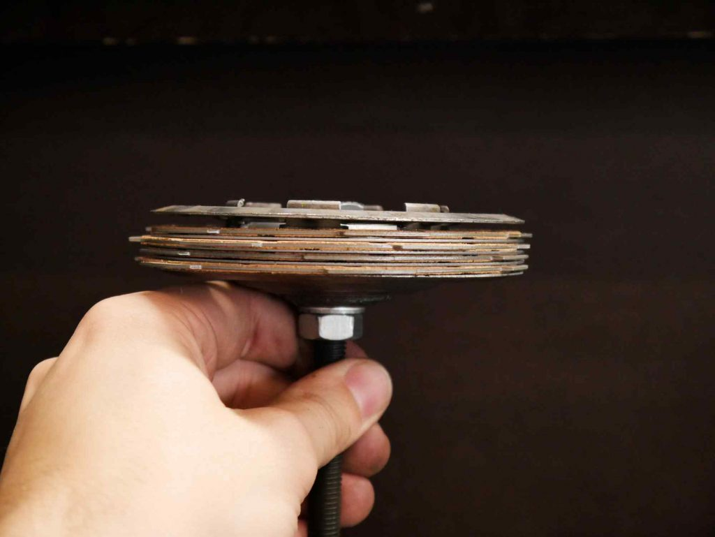 Vespa PK 50 Kupplungspaket bei Revision