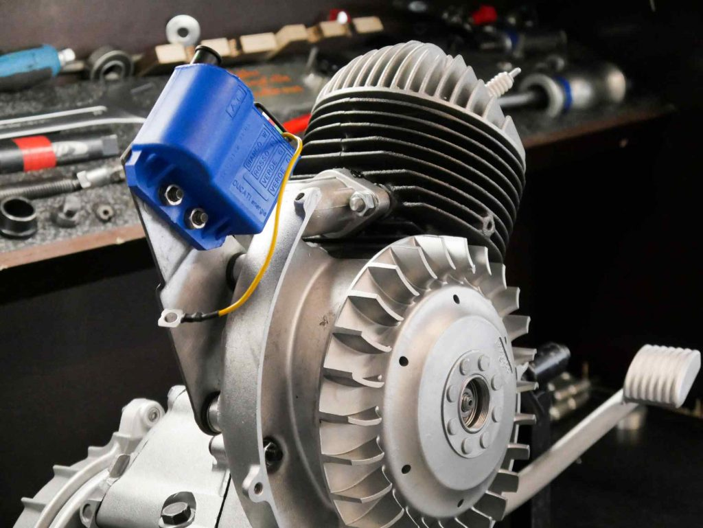Vespa PK 50 Motor mit CDI Elektronikzentrale