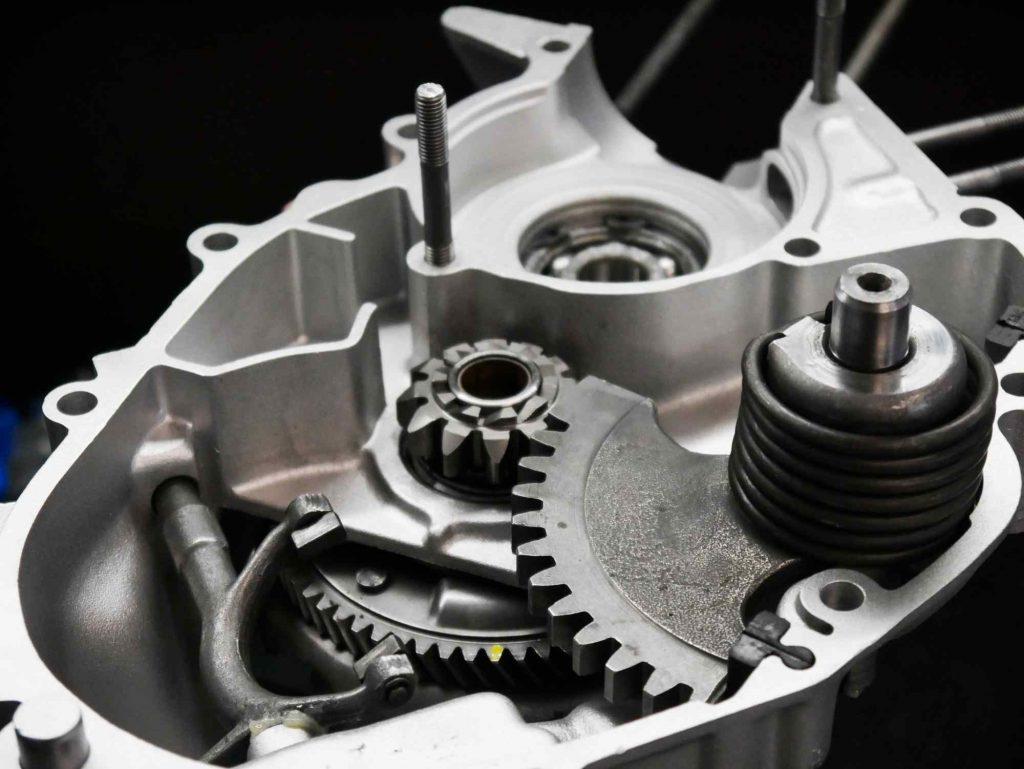 Vespa PK 50 Motor während Revision