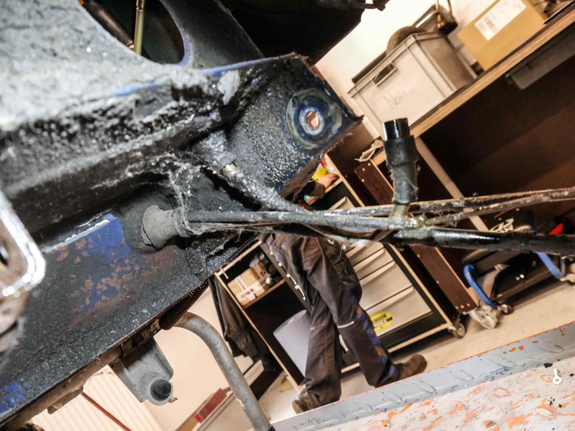 Vespa PK 50 alte Züge und alter Kabelbaum