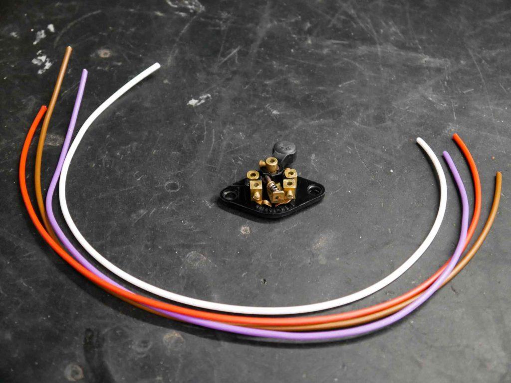 Kabel und Schalter Vespa 160 GS