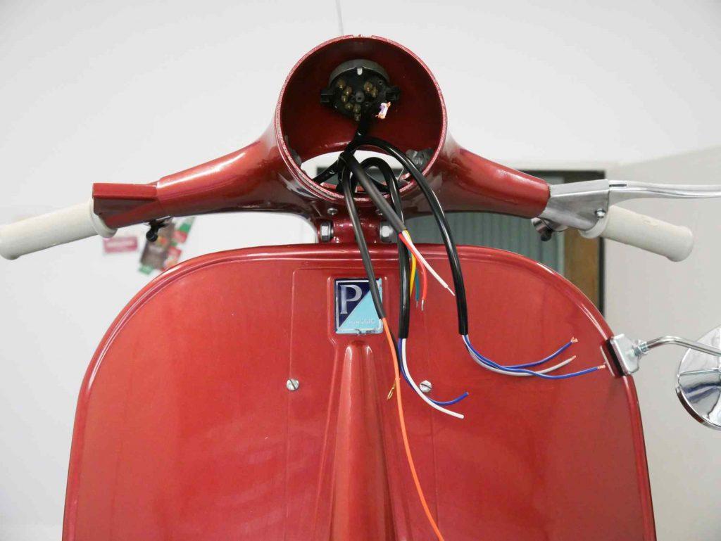 Lenker Verkabelung anpassen Vespa GS 160