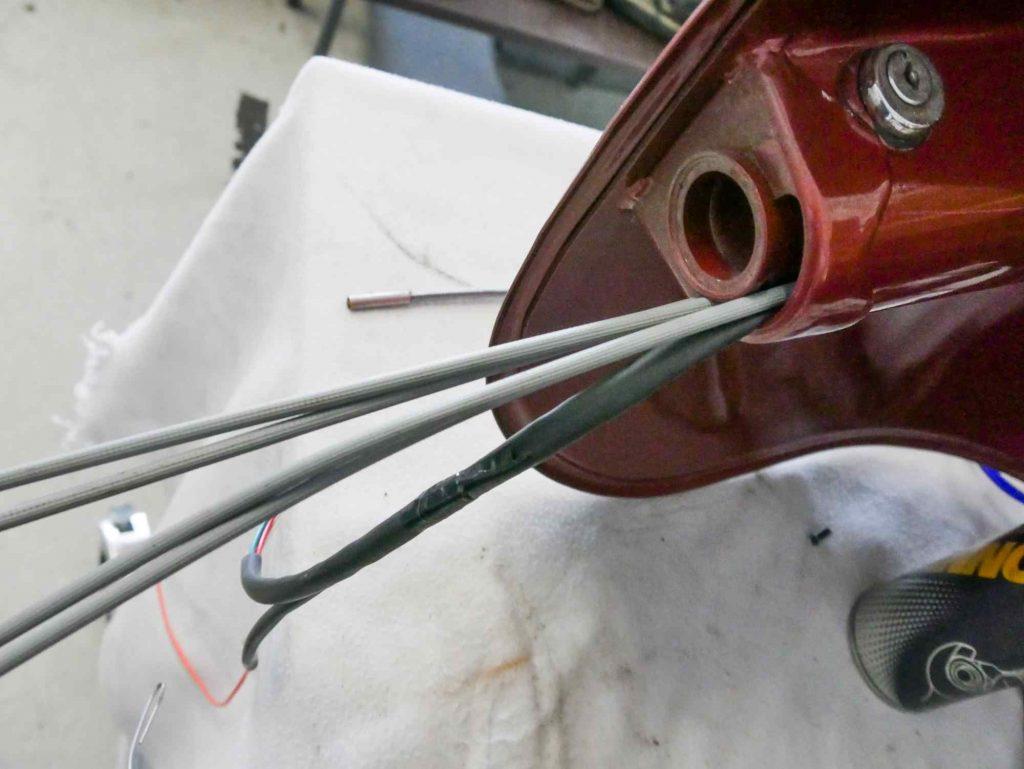 Seilzüge für Vespa 160 GS Lenker