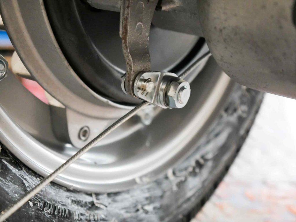 Seilzug Bremse hinten Vespa 160 GS