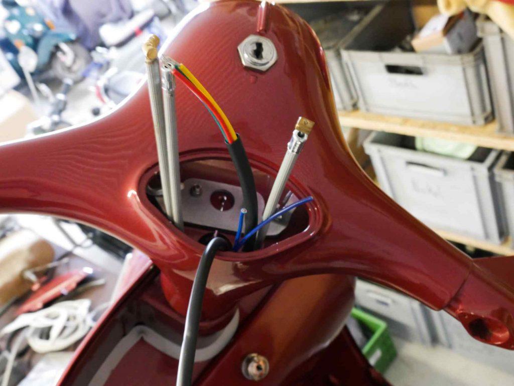 Vespa GS 160 Kabel und Seilzüge Lenker