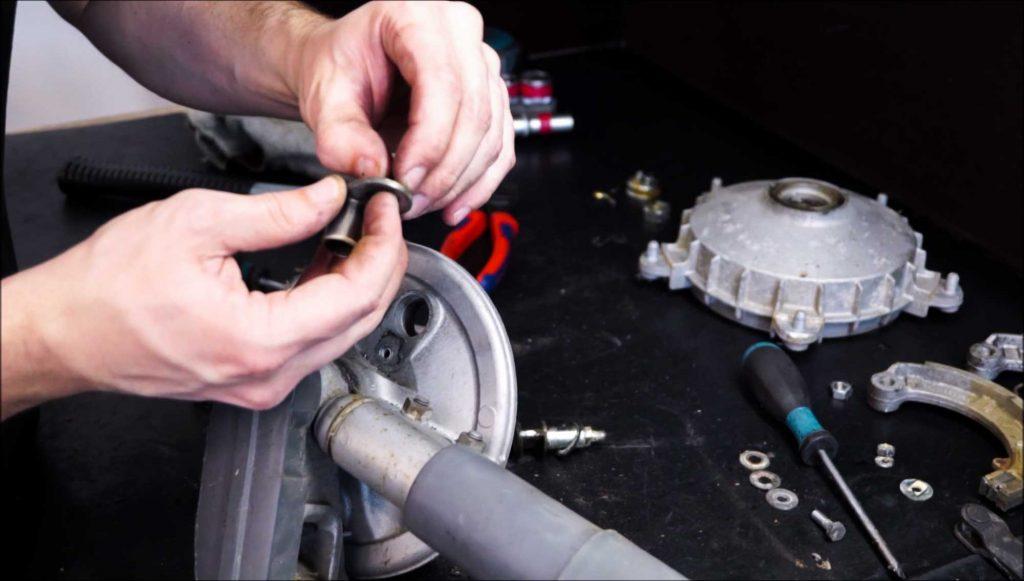 Vespa PK Schwinge Bremsarmaufnahme